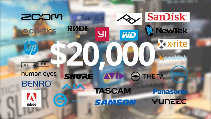 The Videomaker Great Gear Giveaway includes prized from tons of awesome brands!