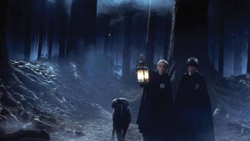 """Scene from """"Harry Potter and the Sorcerer's Stone"""" (2001)"""