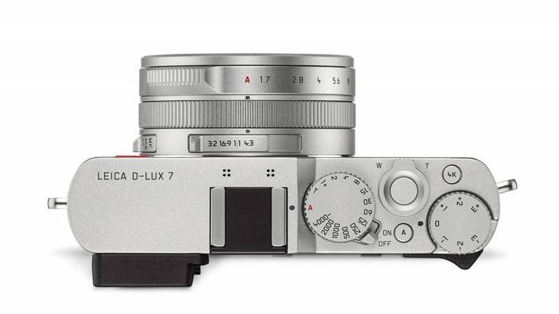 Leica's D-Lux 7 top view