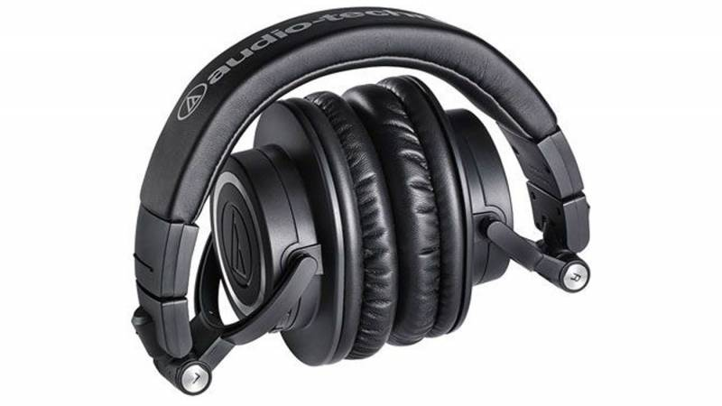 Audio-Technica ATH-M50xBT folded up