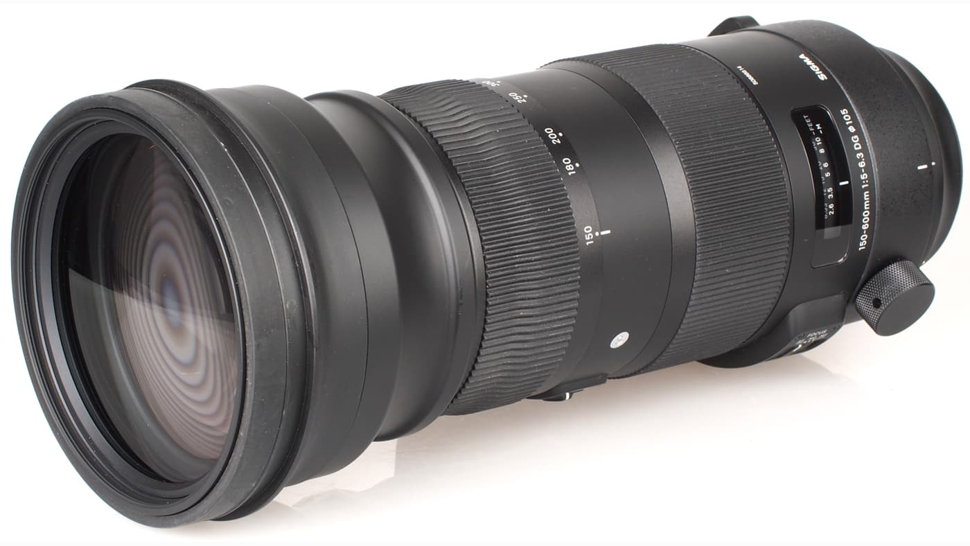 Sigma 150-600mm F5-6.3 DG OS HSM lens
