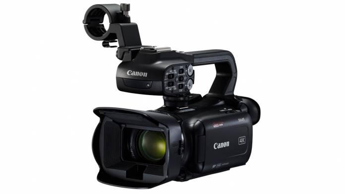 Canon XA camcorder