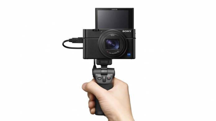 The RX100 VII compact camera aims to be the next vlogger's camera.