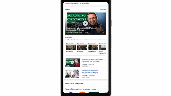 Soon people will be able to get more relevant video clips in Google searches