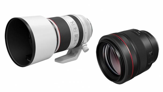 Canon announces RF 85mm F1.2 L USM DS and RF 70-200mm F2.8 L IS USM