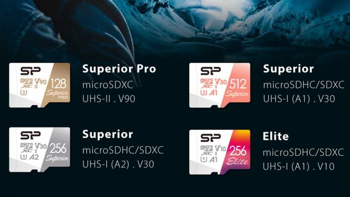 Silicon Power's new microSD cards