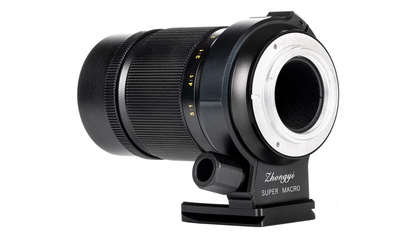 ZY Optics 85mm F2.8 1-5X back shot