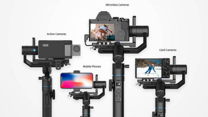 Swift P1 holding different cameras