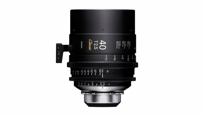 Sigma's 40mm T2.5 Classic lens