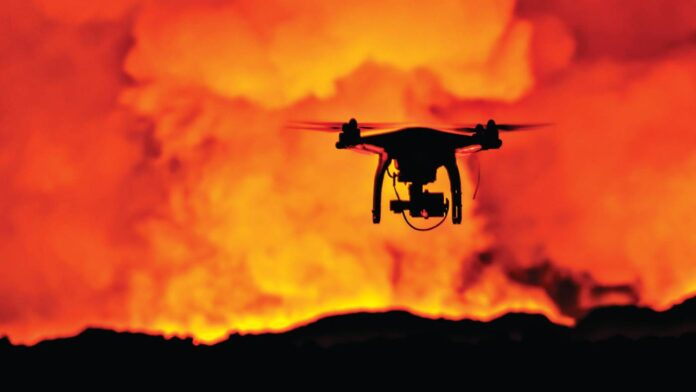 Drones and fire featured image