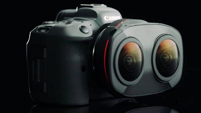 Canon EOS RF5.2mm F2.8 L Dual Fisheye lens