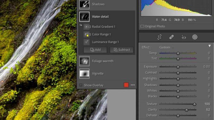 Adobe Lightroom update