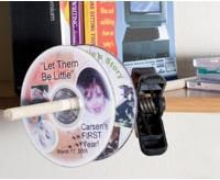 Air Dry your DVD labels