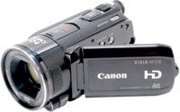 Canon AVCHD Camcorder Review:  HF S10