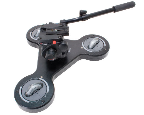Videomaker's 2009 Best Camcorder Support: Omni-Tracker Slim Line Dolly Review