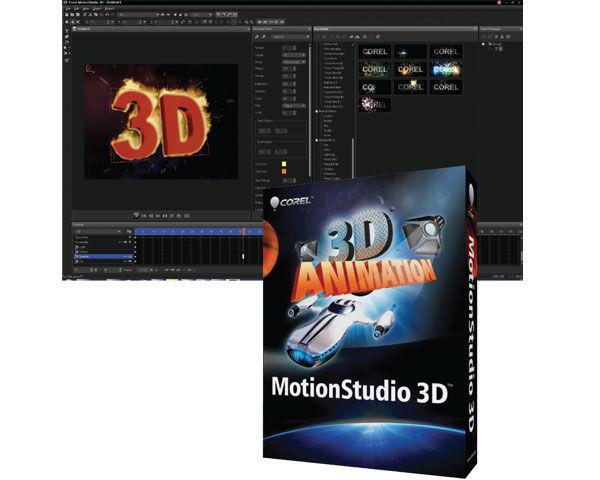 Corel MotionStudio 3D Editing Software Review
