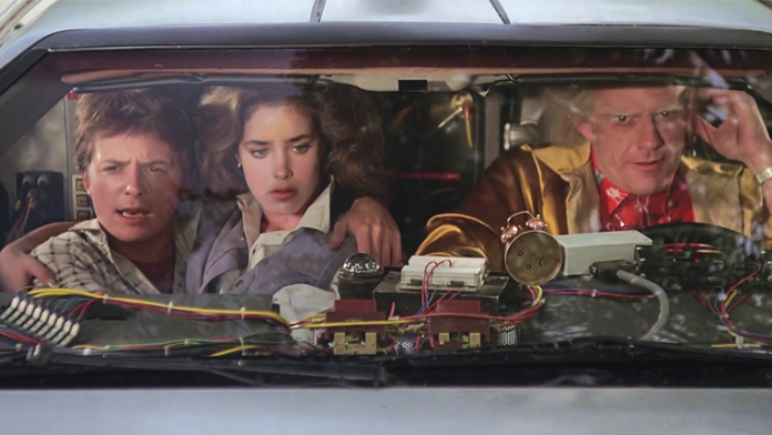 """Picking Apart a Frame in """"Back to the Future"""""""
