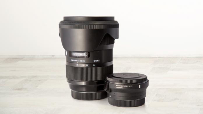 Sigma Art Lens 24-35mm