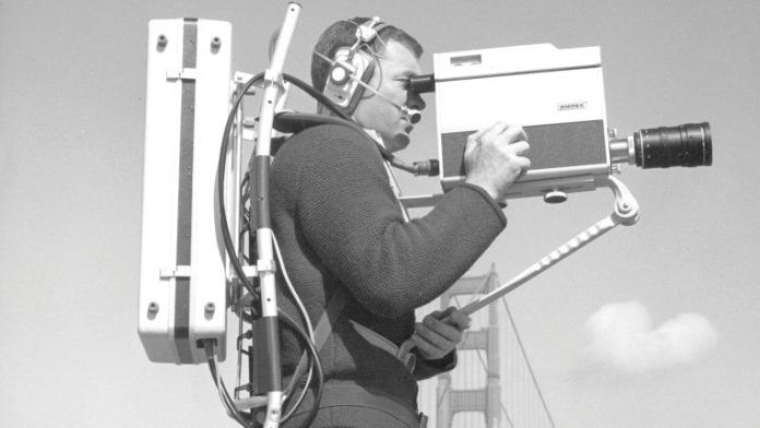 Ampex VR-3000 backpack
