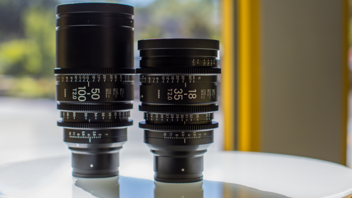 Sigma 18-35 T2 & 50-100mm T2 Cine High-Speed Zooms