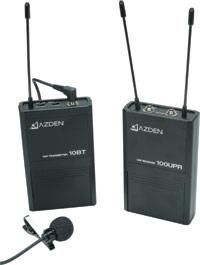 Wireless Lapel Microphone System:Azden 100LT UHF Review