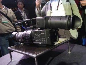 NAB 2012: Sony Shows off the NEX-FS700