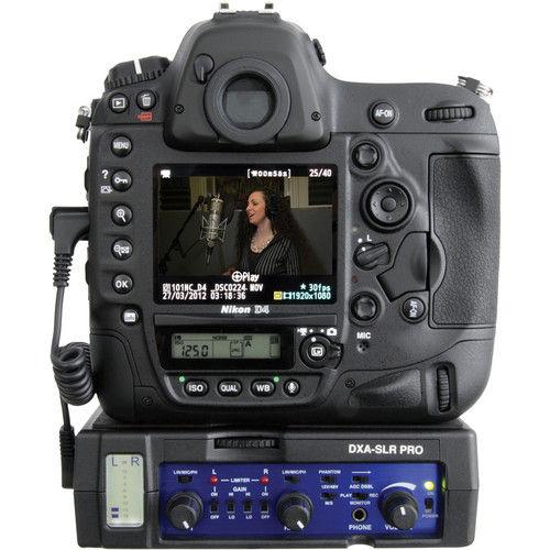 Image of BeachTEK DXA-SLR PRO Audio Adapter