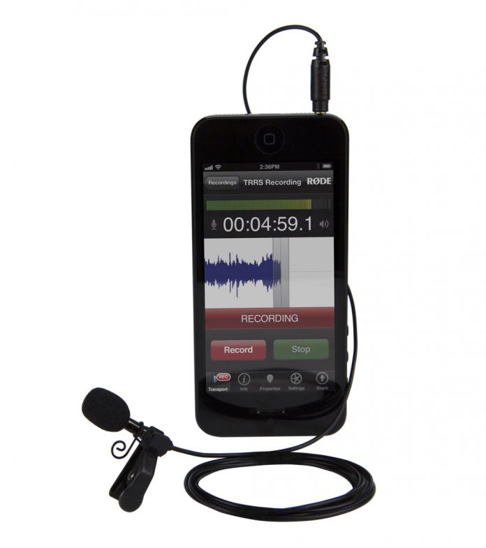 Rode smartLav Microphone for iOS