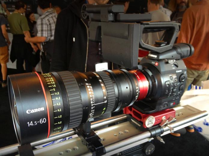 Canon CN-E 14.5-160mm T2.6 Lens