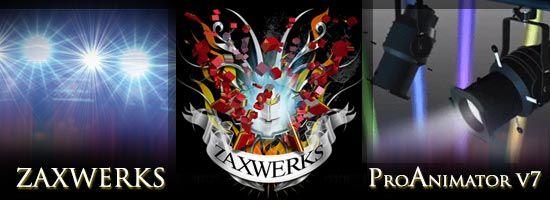 Zaxwerks animation software logo