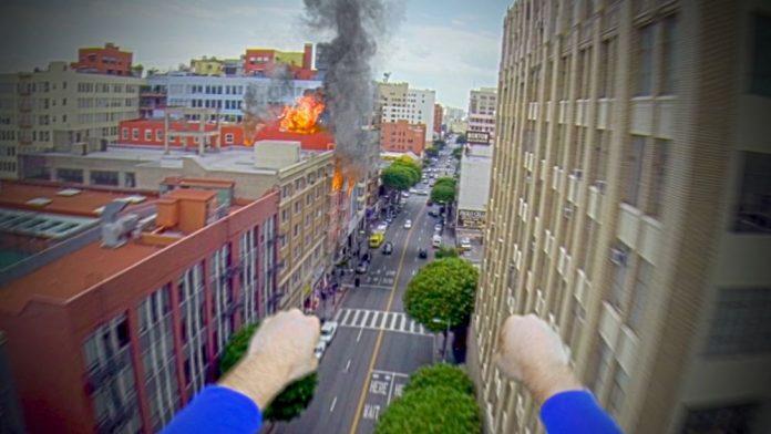 Superman GoPro Video Screenshot