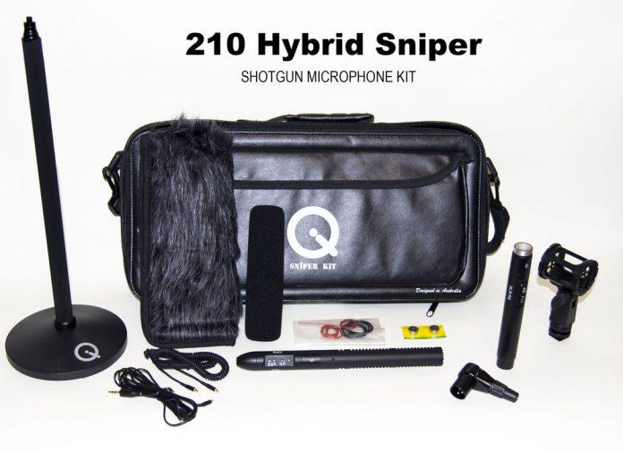 Shotgun microphone kit with various pieces