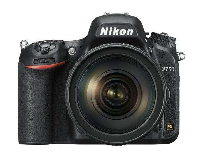 The Nikon D750 with 24-120 f/4.0 kit lens