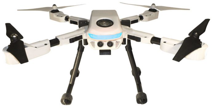PlexiDrone, ultra-portable aerial camera system
