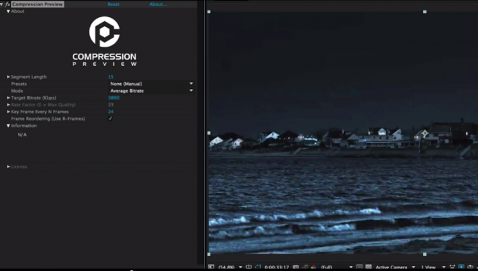 Compression Preview - it'll clean up that color shifting and gradient banding