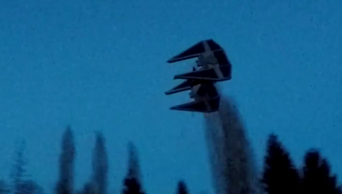 The Force is Strong With This TIE Fighter Drone