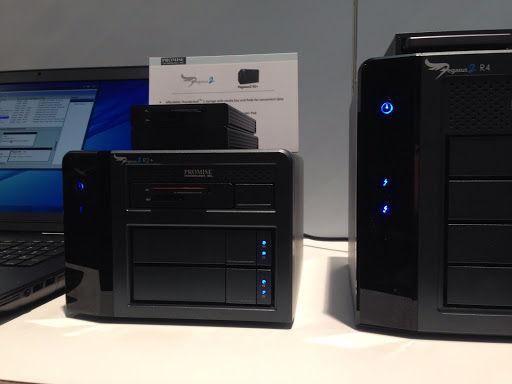2-bay hard drive enclosure