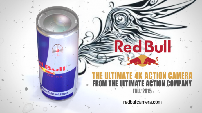 The Red Bull 4K Action Camera