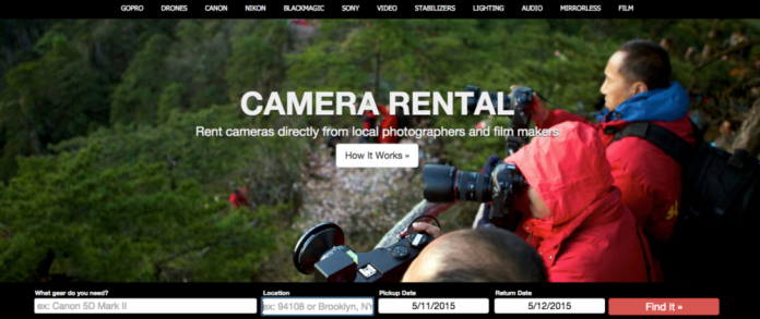 CameraLends camera sharing goes nationwide!