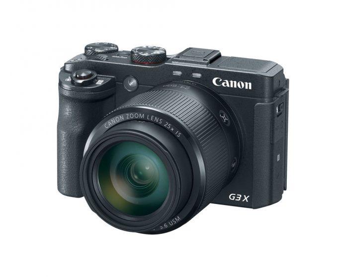 The Canon PowerShot G3 X compact camera