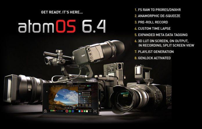 Atomos releases AtomOS6.4 for Shogun
