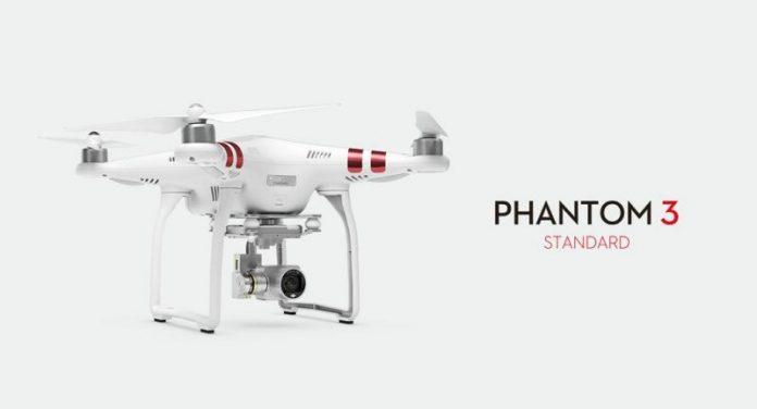 The DJI Phantom 3 Standard