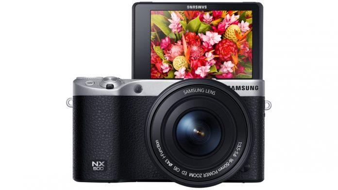 Samsung NX500 mirrorless camera