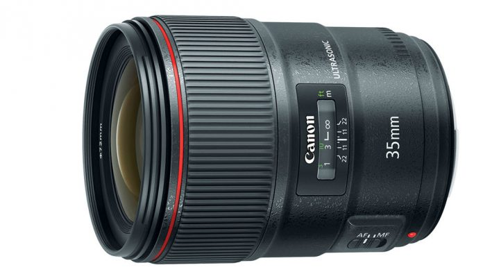 BR Optics reduces color fringing in Canon's New EF 35mm f/1.4 L II USM Lens