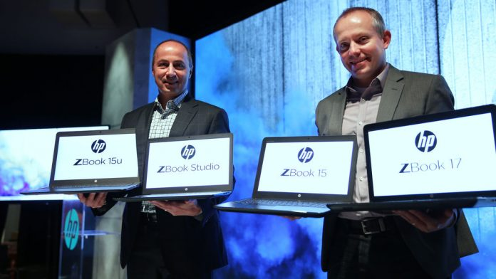HP's latest family of mobile workstations