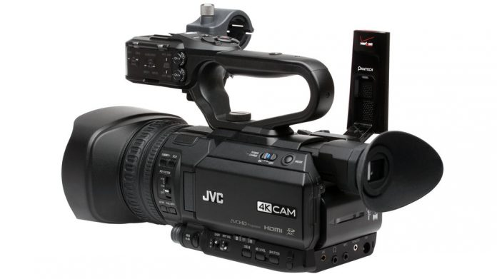 JVC GY-HM200SP 4KCAM camcorder