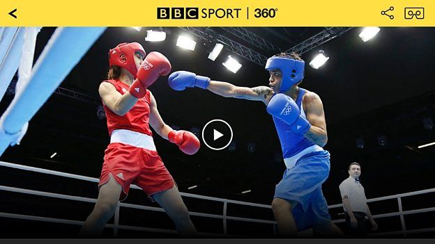 BBC Sport 360 to bring live spherical coverage of select Olympic events.