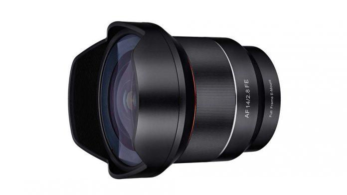 Rokinon 14mm F2.8 AF Full Frame lens for Sony E-mount