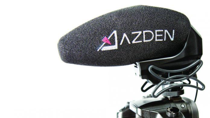 Azden SMX-30 Mounted on a Camera