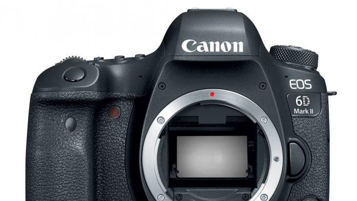 Canon 6D Mark II Body facing forward